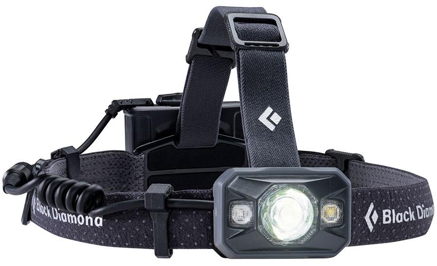 Black Diamond Icon 500 Lumen LED Headlamp, Adjustable, Black