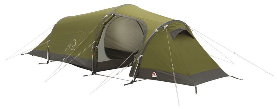Robens Voyager 2EX Lightweight Trekking Tent, 2 Man Green