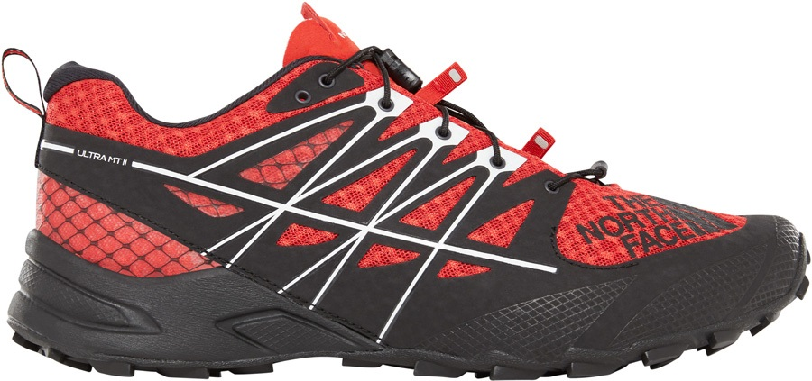 66738efc2 The North Face Ultra MT II Trail Running Shoe, UK 13 Fiery Red/Black