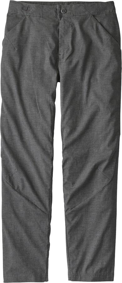 "Patagonia Hampi Rock Pants Climbing Trousers, 34"" Forge Grey"