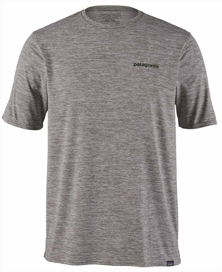 Patagonia Adult Unisex Capilene Cool Graphic T-Shirt, S Grey P-6