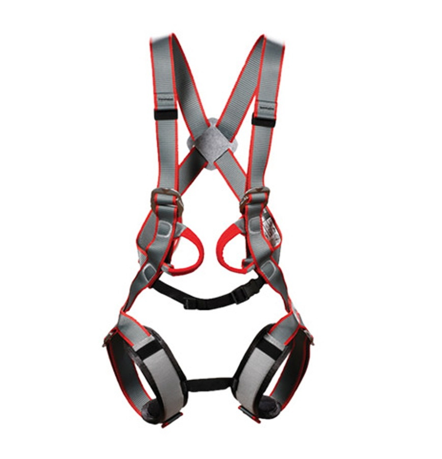DMM Child Unisex Tom Kitten Kids Full Body Harness, One Size Grey/Red