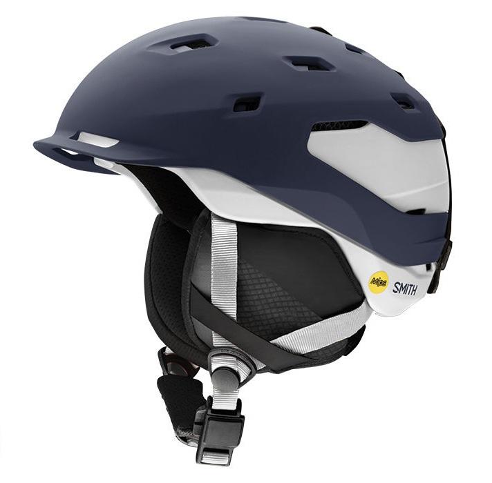 Smith Quantum MIPS Snowboard/Ski Helmet, L Matte Ink Vapor