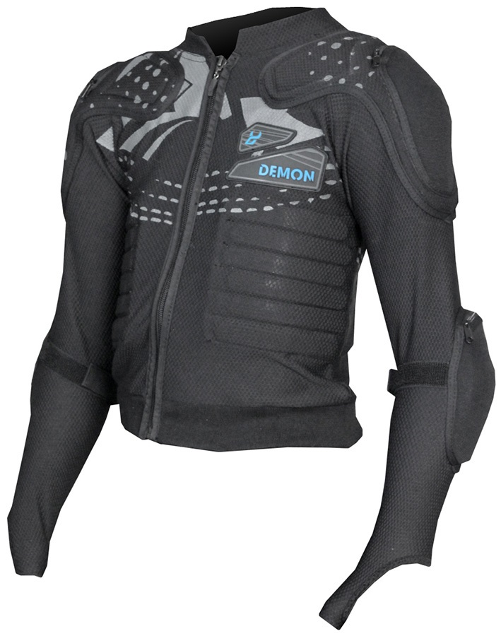 Demon Flex Force Pro Kids Body Armour Top M Black