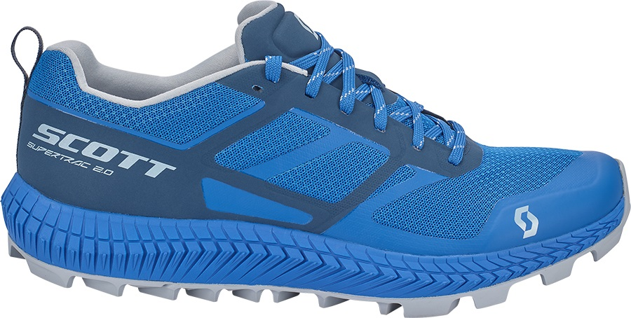 Scott Supertrac 2.0 Trail Running Shoes, UK 12 Blue/Dark Blue