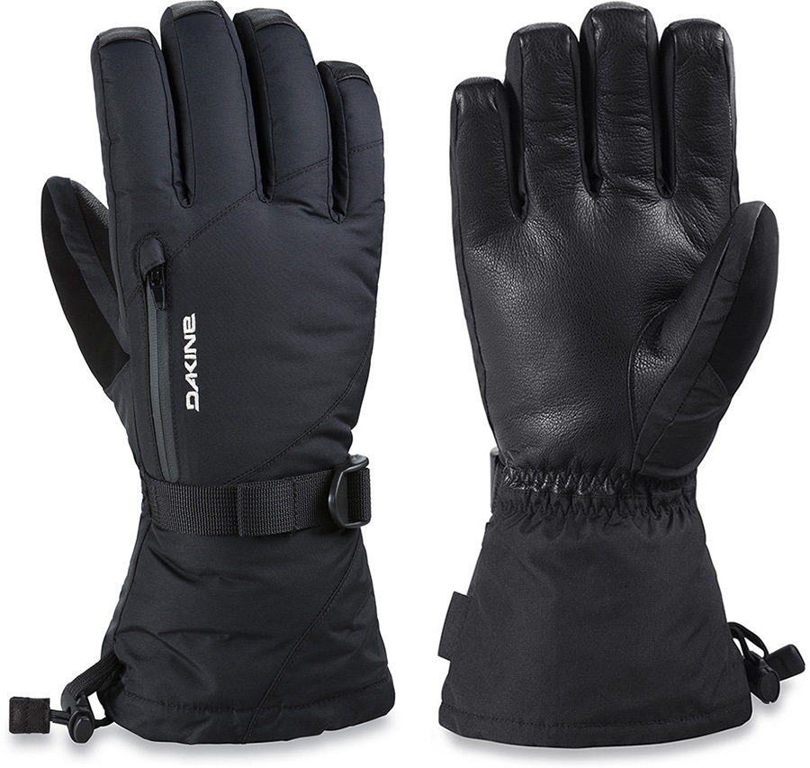 948020e60 Dakine Leather Sequoia Gore-Tex Women's Ski/Snowboard Gloves, L Black
