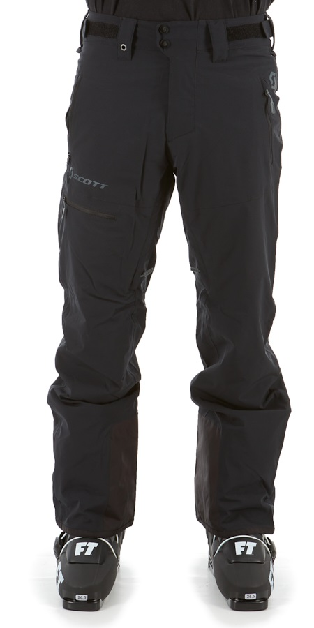 Scott Ultimate Dryo10 Insulated Snowboard/Ski Pants, S Black