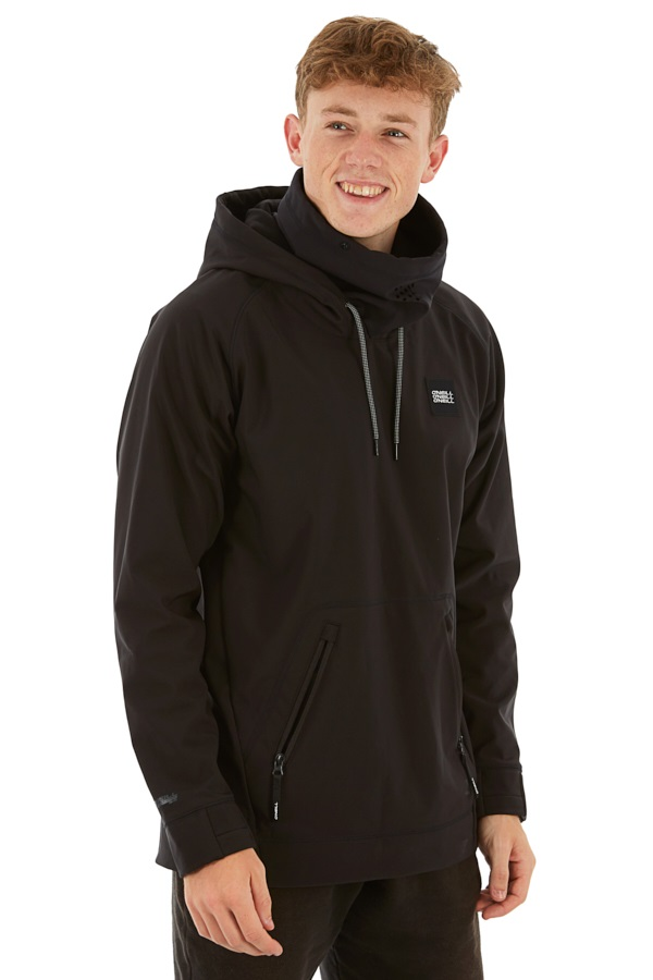O'Neill Tech Hyperfleece Technical Hoodie, M Black Out