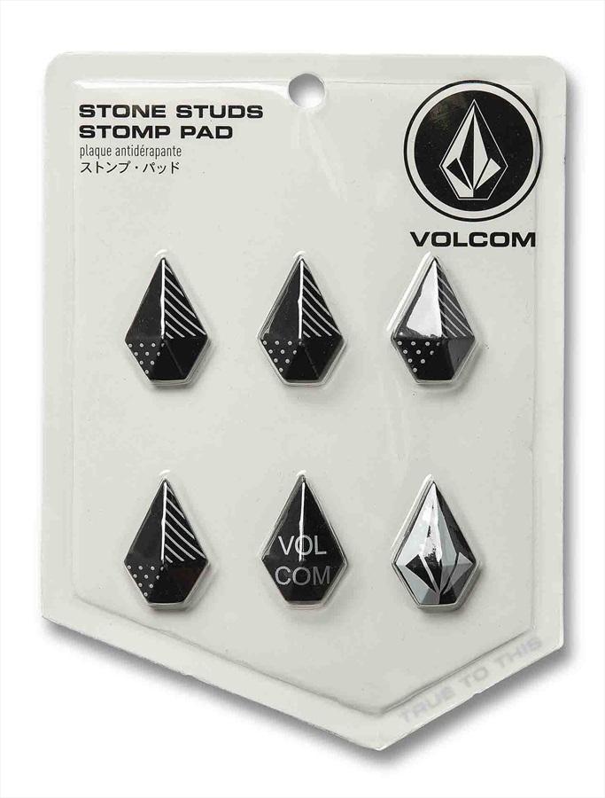 Volcom Stone Studs Snowboard Stomp Pad Traction Mat Black