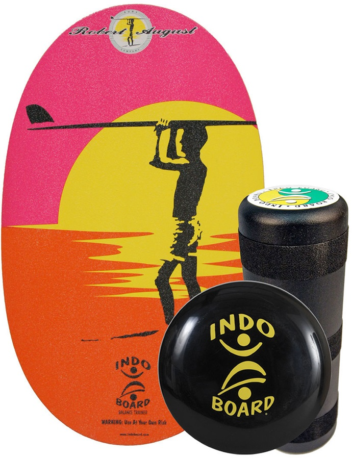 Indo Board Original Balance Training Pack, Robert August