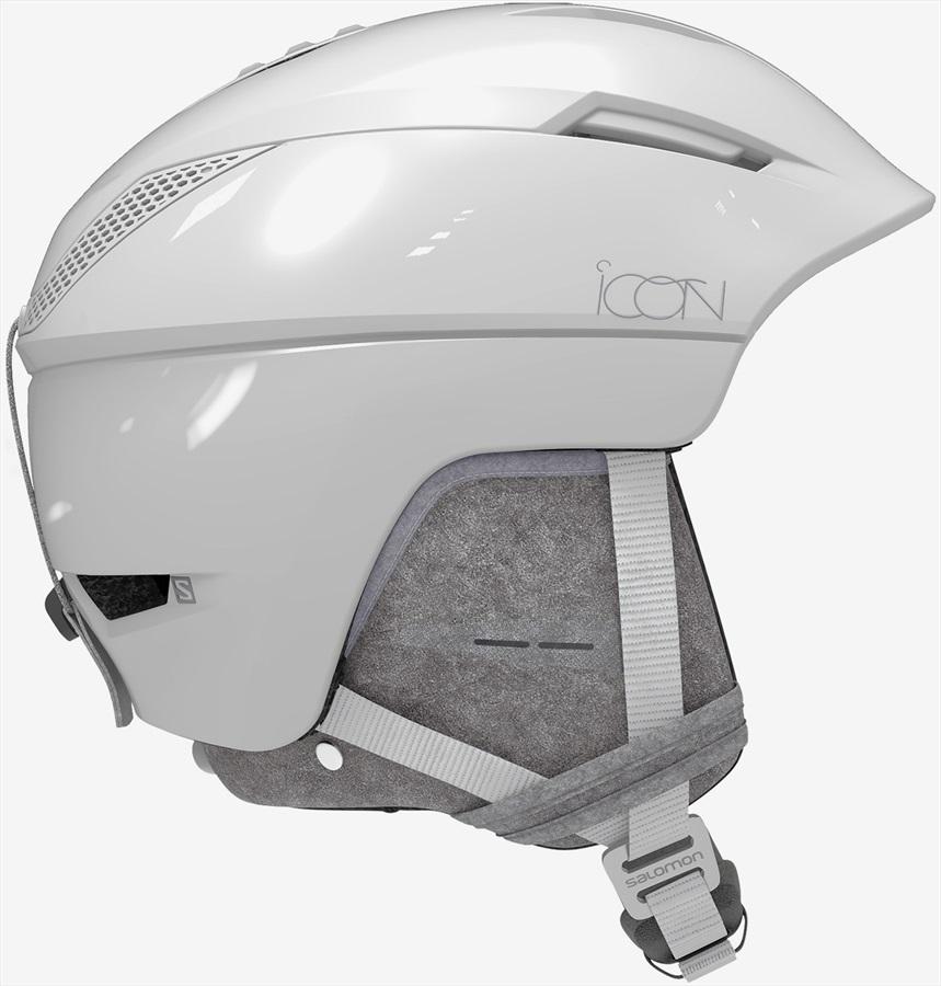 Salomon Icon2 C.Air MIPS Women's Snowboard/Ski Helmet, S White