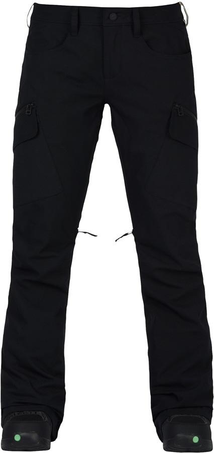 Burton Gloria 2 Layer Women's Snowboard/Ski Pants, M True Black