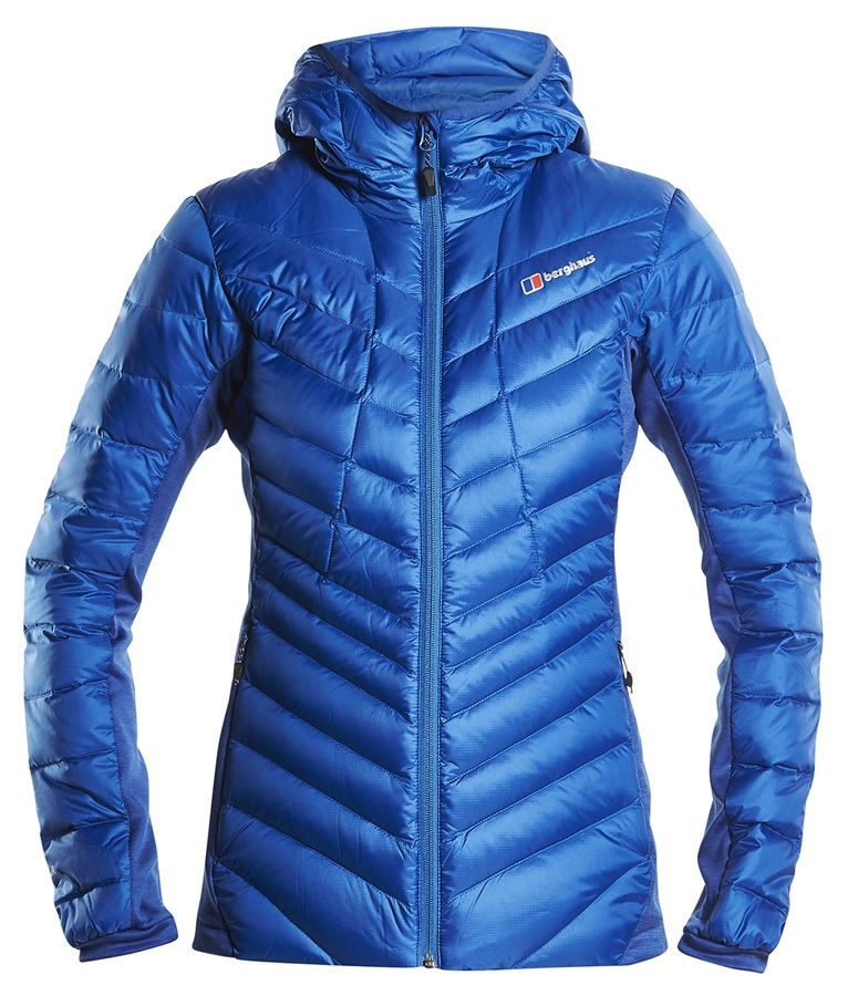 Berghaus Tephra Stretch Women's Down Insulated Jacket, UK 16 Blue