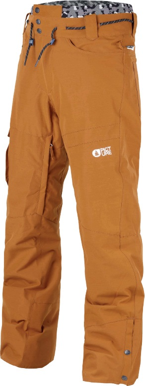 Picture Under Ski/Snowboard Pants, S Camel