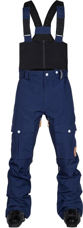 Wearcolour Falk Snowboard Bib Pants, XS Midnight Blue