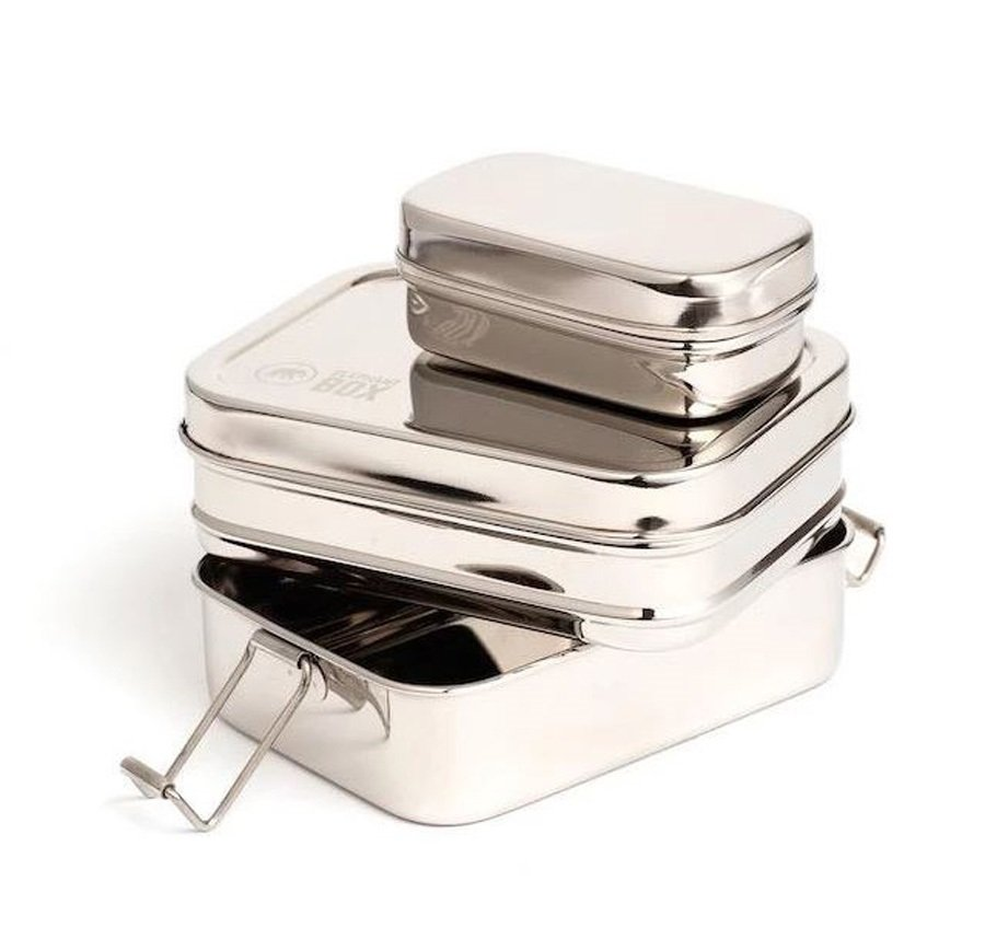 Elephant Box Three In One Snack Box Stainless Steel Food Containers