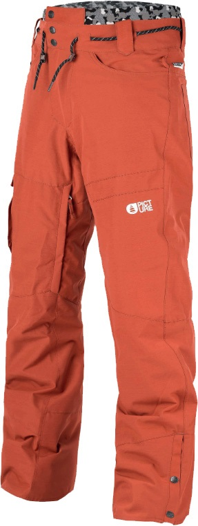 Picture Under Ski/Snowboard Pants, S Brick