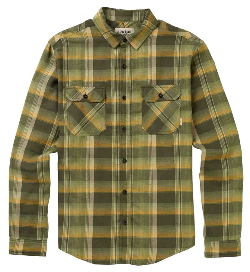 Burton Brighton Flannel Long Sleeve Shirt, M FT NT Stella