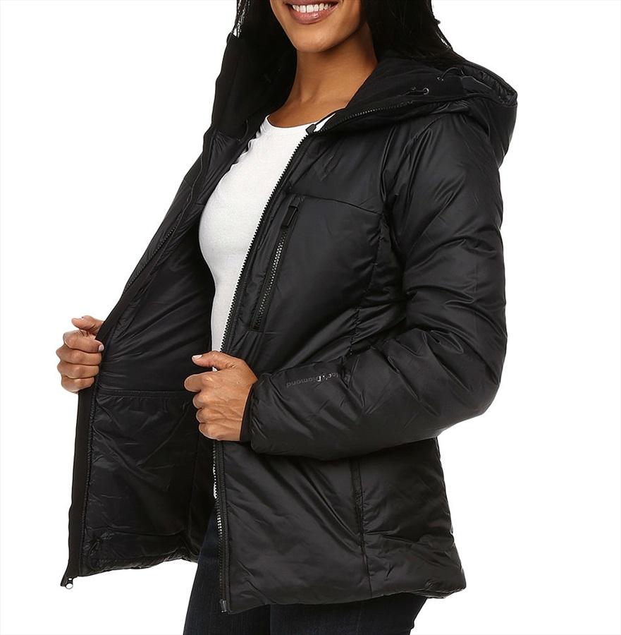 Insulated Parka Black Diamond Stance Belay Women's Jacket L H29IEWD