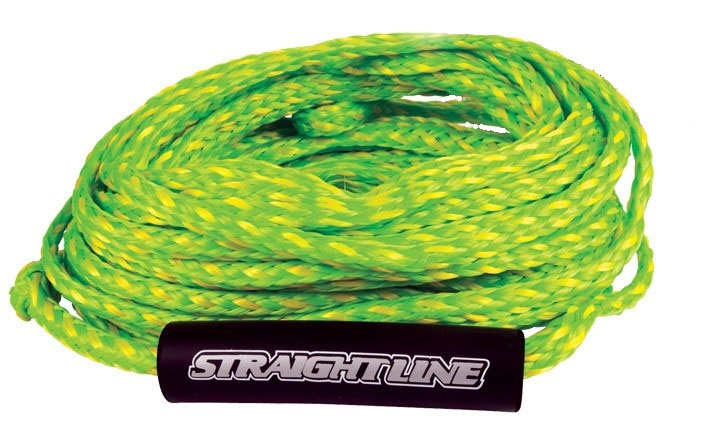 Straight Line Supreme Heavy Duty Tube Rope, For 2 Rider Tubes Yellow