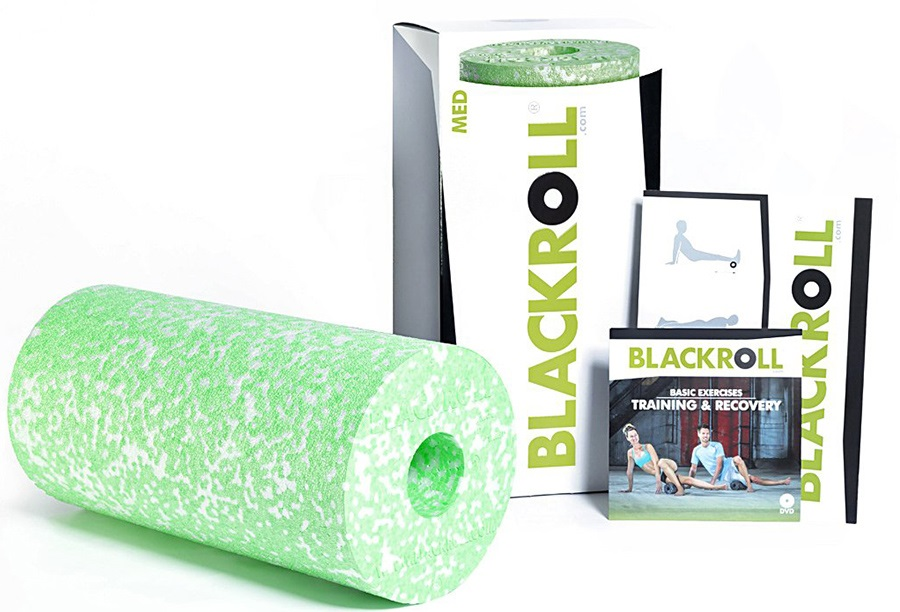 Blackroll Med Massage Roller, White/Green