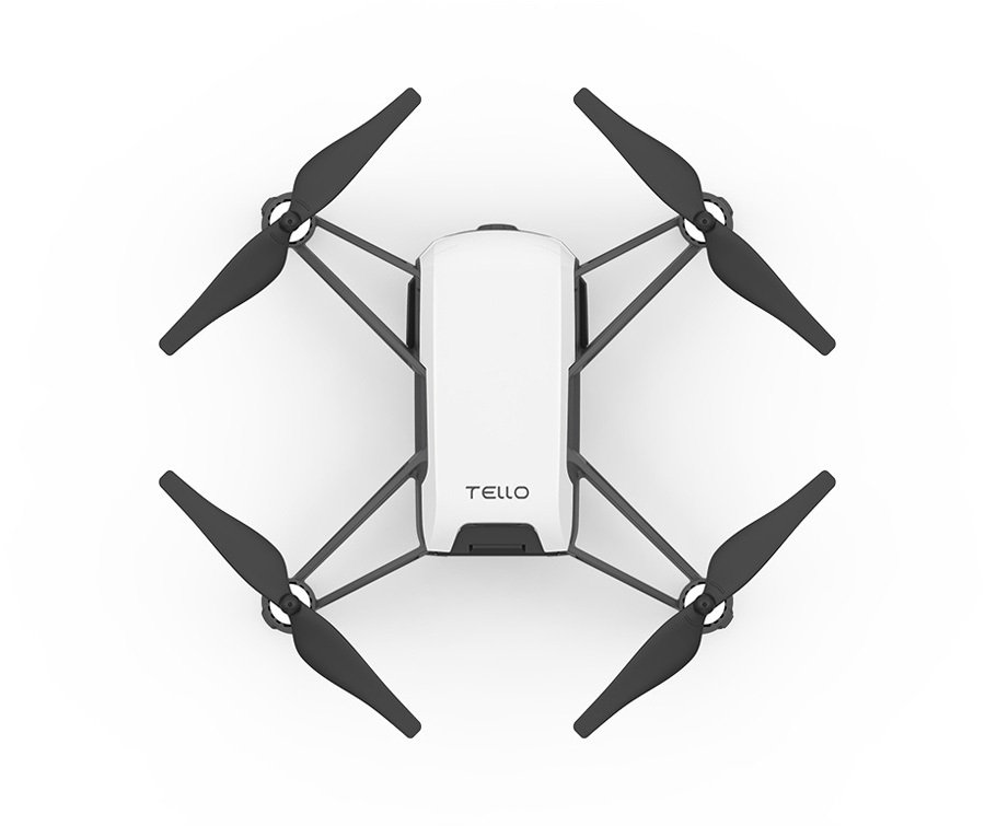 DJI Ryze Tech Tello Mini Stunt Drone, Quadcopter Only