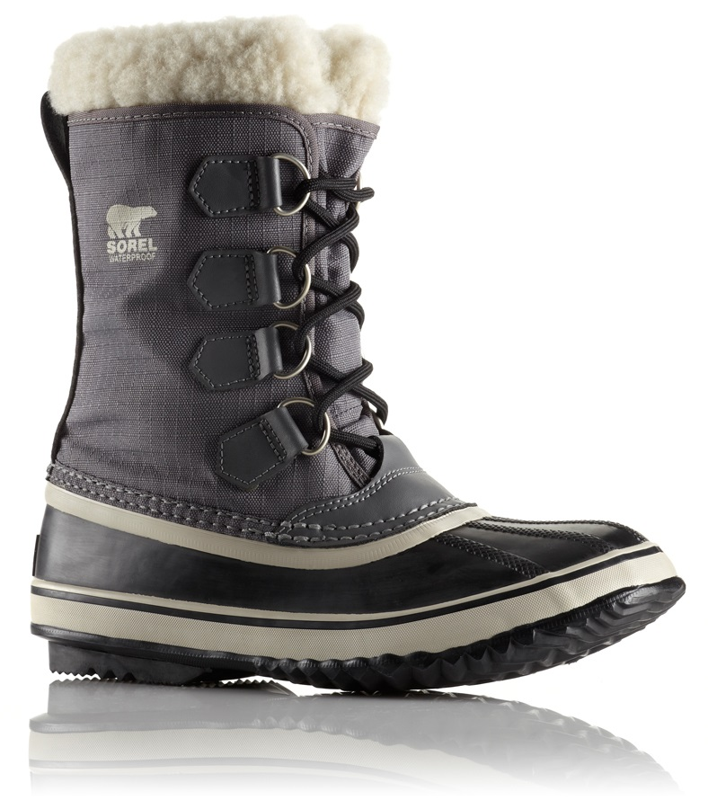 Sorel Winter Carnival Women's Snow Boots UK 4 Pewter Black