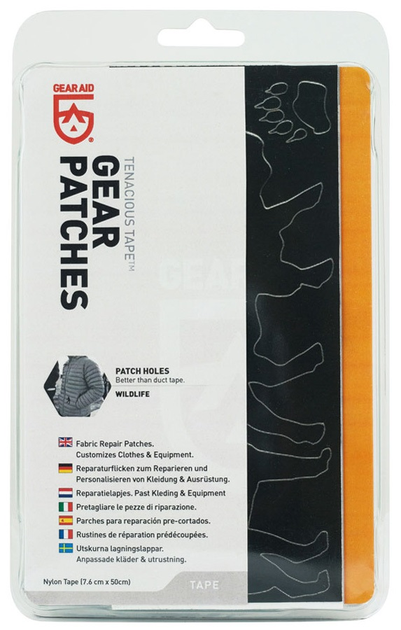 Gear Aid Tenacious Tape Gear Patches Outdoor Gear Repair Patch Kit