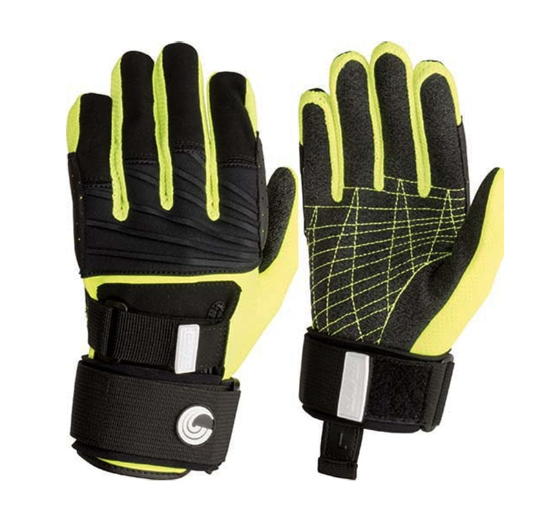 Connelly Claw 3.0 Waterski Wakeboard Gloves, Large Black Yellow 2019