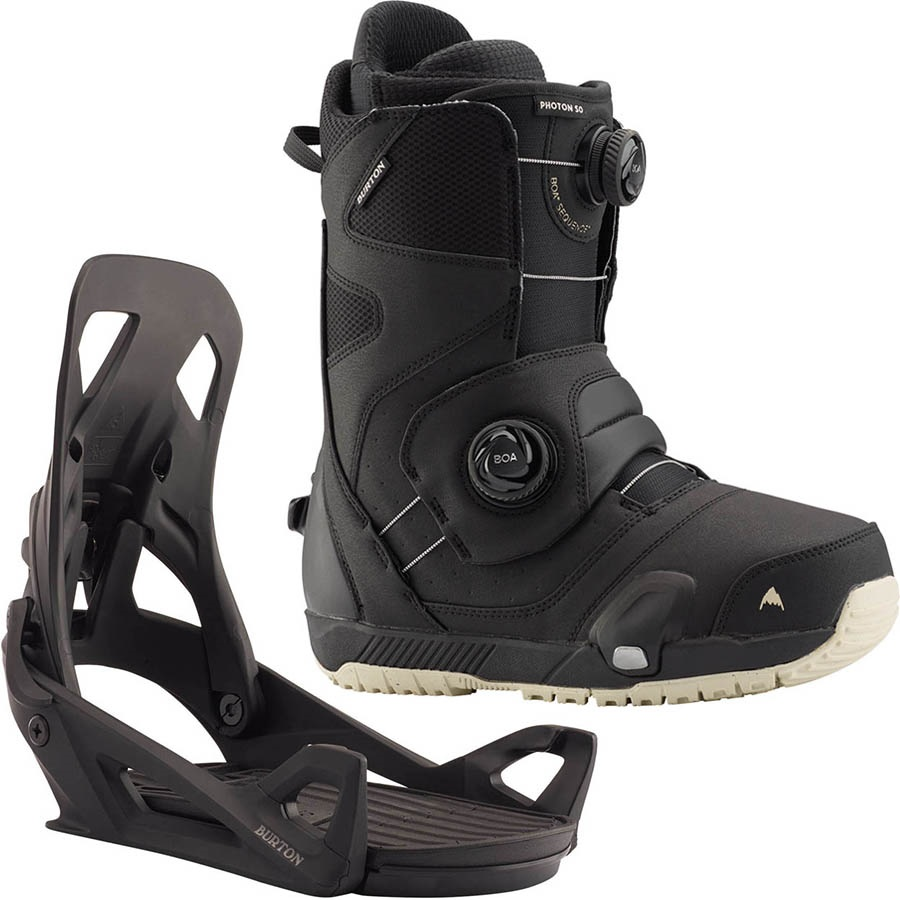 Burton Photon Step On Snowboard Binding & Boot, UK 6 Black 2020