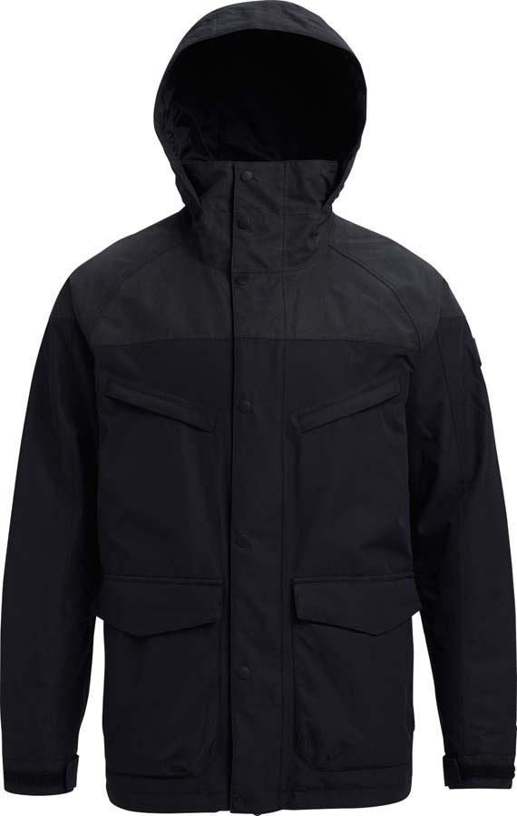 Burton Breach Ski/Snowboard Jacket, M True Black Wax