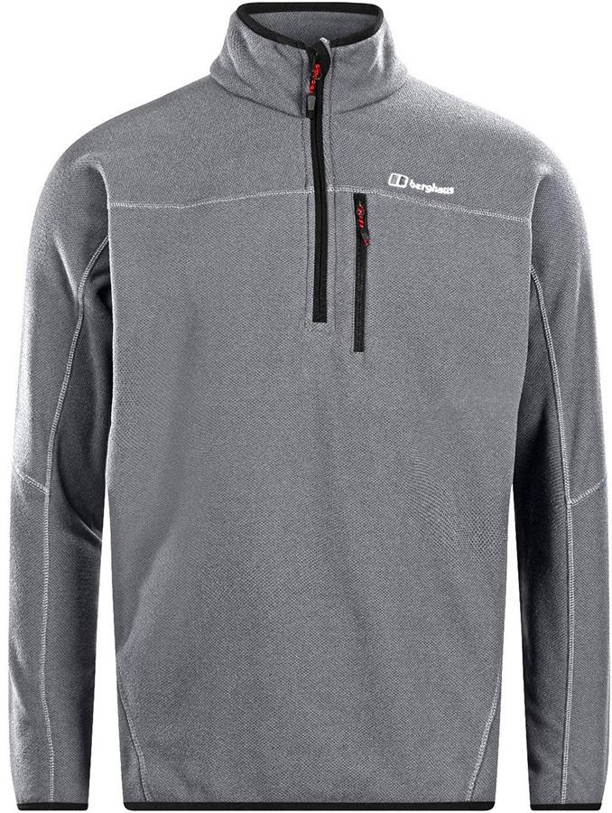 Berghaus Stainton Half-Zip Fleece Pullover, S Grey Marl