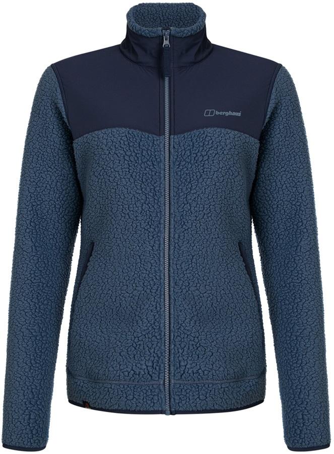 Berghaus Tahu Full-Zip Women's Thermal Fleece Jacket, S Vintage Indigo