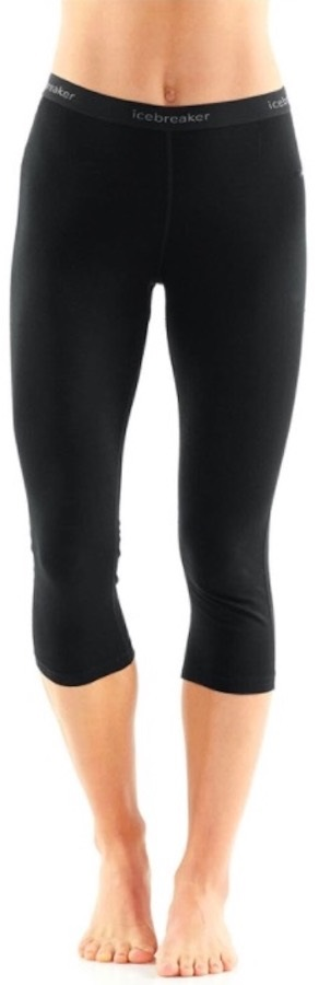 Icebreaker 200 Oasis Legless Women's Pants, L Black