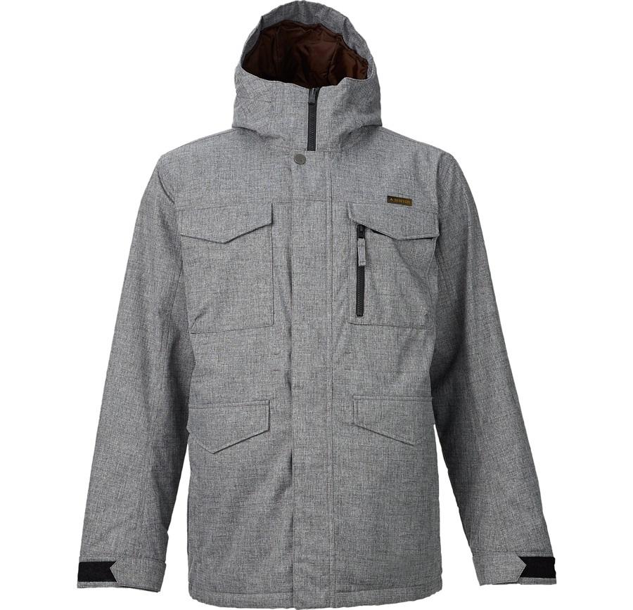Burton Covert Snowboard/Ski Jacket, M, Bog Heather