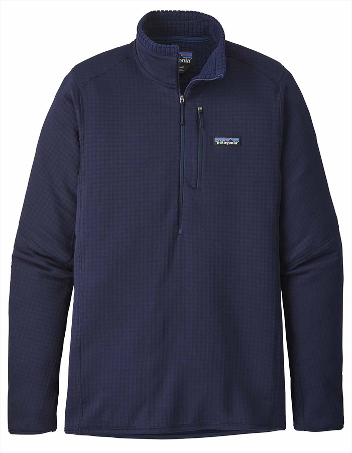 Patagonia R1 Pullover Mid Layer Fleece, XL Classic Navy