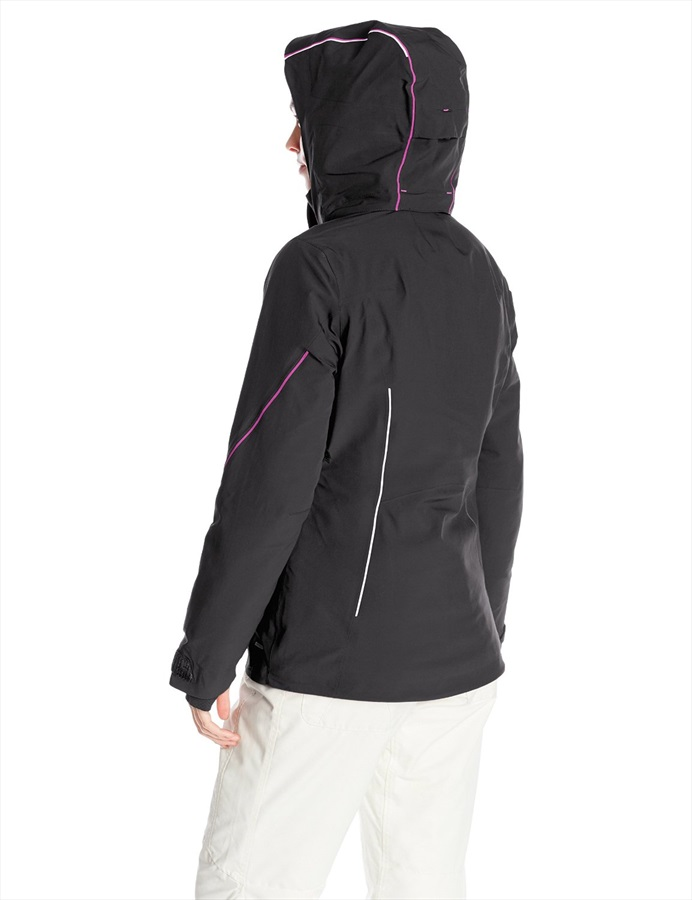 look for great look footwear Salomon Speed Women's Snowboard/Ski Jacket, L, Black