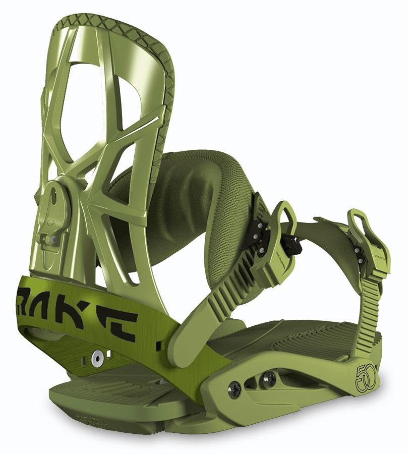 Drake Fifty Snowboard Bindings L Army Green 2019