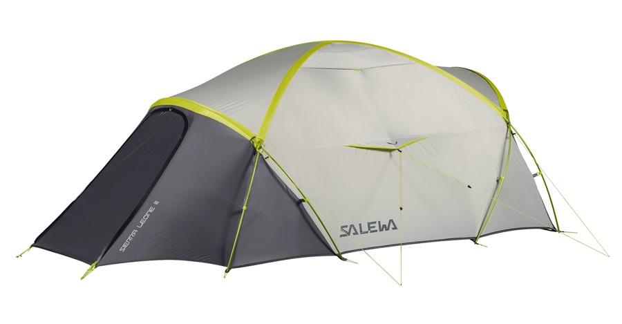 Salewa Sierra Leone 3 Tent Lightweight Backpacking Tent, 3 Man Grey