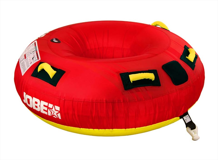 Jobe Hotseat Towable Inflatable Tube, 1 Rider Red 2019