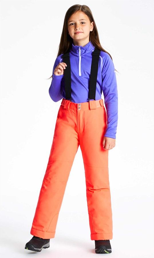 Dare 2b Outmove Kid's Snowboard/Ski Pants, Age 7-8 Fiery Coral