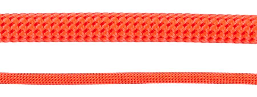 Beal Joker Unicore Rock Climbing Safety Rope, 9.1mm X 50m Orange