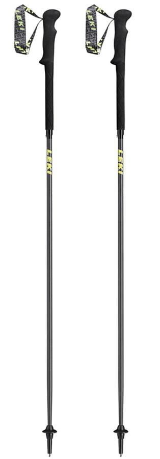 Leki Micro RCM Carbon Ultralight Trail Running Poles, 130cm Black