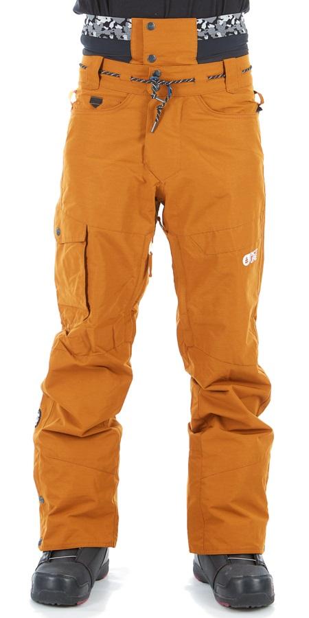 Picture Under Ski/Snowboard Pants L Camel