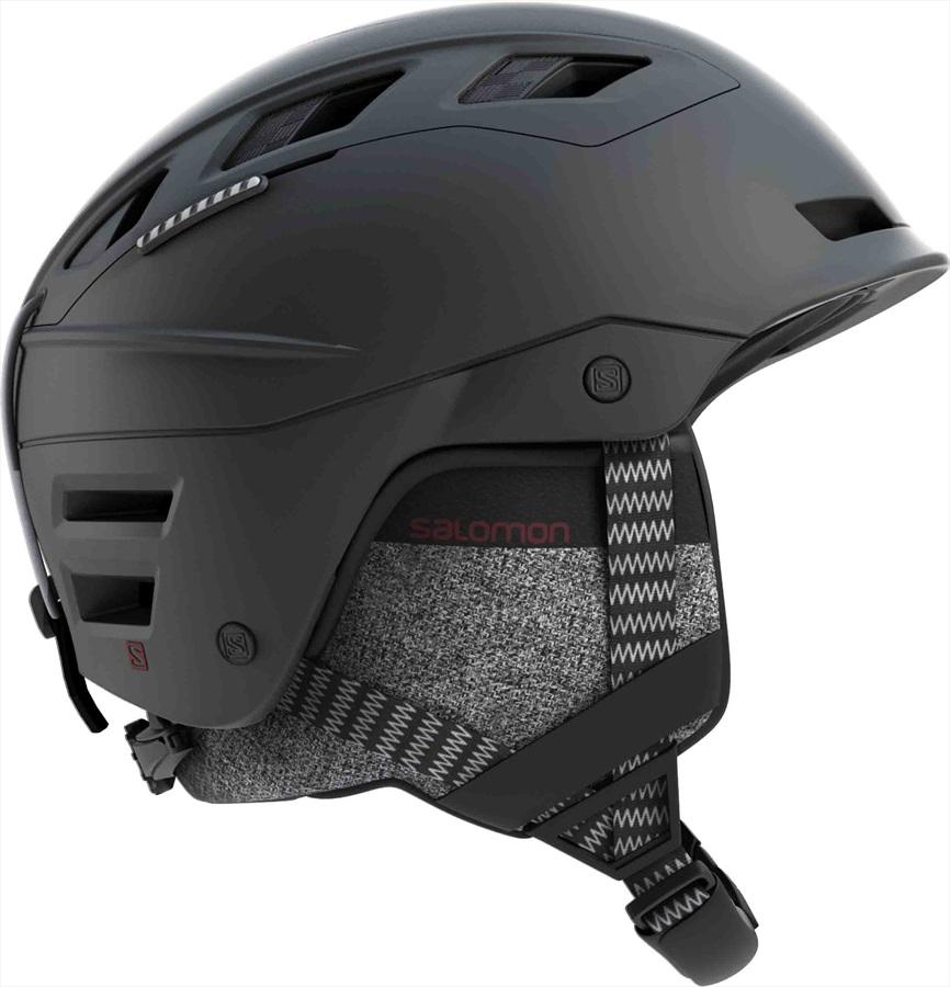 Salomon QST Charge MIPS Ski/Snowboard Helmet, M Black