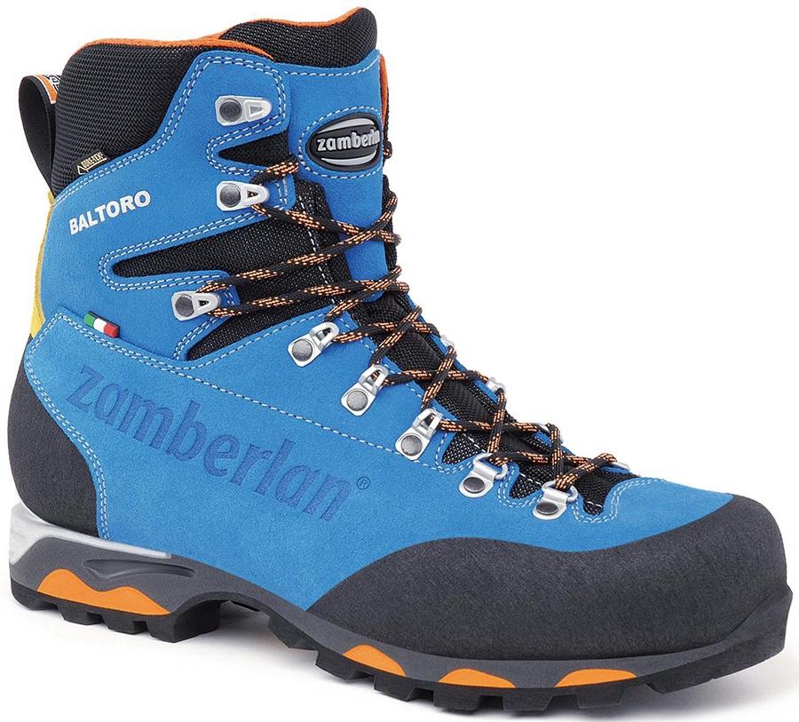 Zamberlan Baltoro GTX Mountaineering Boot, UK 10.5 / EU 45 Blue/Black