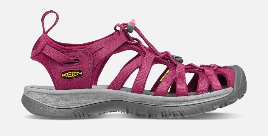 Keen Womens Whisper Women's Walking Sandals, UK 5 Beet Red/Honeysuckle