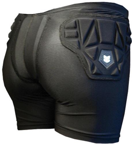 Demon Compression SKINN Women's Ski/Snowboard Impact Shorts XL Black