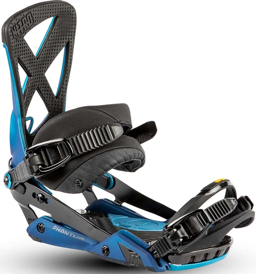 Nitro Phantom Snowboard Bindings, Large Blue Rover 2019