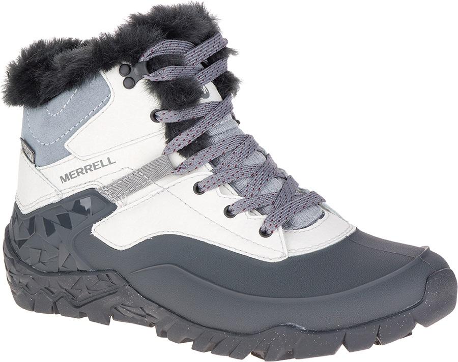 parhaat suosituin yksinoikeudella kengät Merrell Aurora 6 Ice+ WTPF Women's Winter Boots, UK 4 Ash